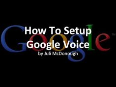 Google Voice Tutorial How To Use Google Voice On A Computer - YouTube Google Voice, How Do I Get, Read Later, Stevie Nicks, Talk To Me, Step By Step Instructions, Documentaries, The Voice, History