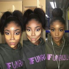 eye makeup tips Black Girl Makeup, Girls Makeup, Love Makeup, Beauty Makeup, Makeup Looks, Makeup Case, Contour Makeup, Contouring And Highlighting, Flawless Makeup
