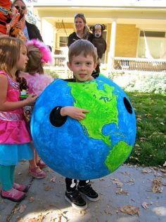 Picture of Globe Halloween Costume/Geography Lesson