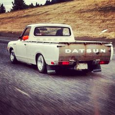 My 78 Datsun 620 rolling on the freeway