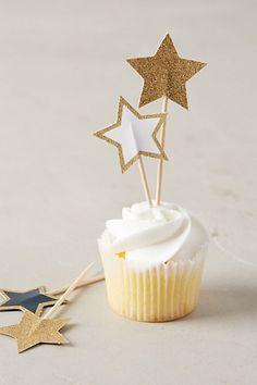 Starlight Cake Toppers - anthropologie.com