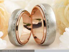 Credo Barokk №1 – karikagyűrű pár