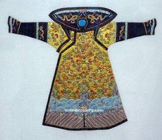 Robes of Emperor Dragon | Chinese Silk embroideries of Emperor's Dragon Robes - Embroidery Blog ...