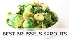 The Best Brussels Sprouts Recipe | Easy Healthy Side Dish