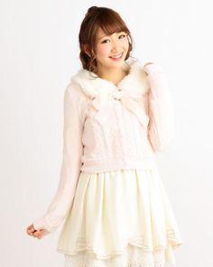 カット襟ファーカーディガン 渋谷109で人気のガーリーファッション リズリサ公式通販