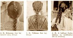 Braid styles in old Hungary. Mad Men Peggy, Family Roots, Folk Dance, Beautiful Long Hair, Braid Styles, Hungary, Braided Hairstyles, Braids, Hair Beauty