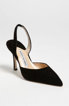 Manolo Blahnik 'Carolyne' Pump | Nordstrom.  Dressed up or can really get dressy.