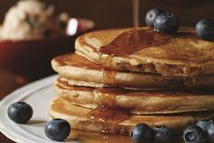 These easy homestyle vegan pancakes are a classic from the Candle 79 Cookbook. The recipe makes ample blueberry butter for enjoying all week!