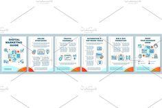 Leaflet Printing, Web Internet, Internet Network, Business Marketing, Media Marketing, Creative Brochure, Newsletter Templates, Page Layout, Brochure Template