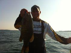Lake Ontario Monster Smally www.bradparadisfishing.com