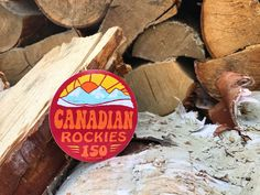 *SOLD OUT* Icy snow covererd peaks, Alpine glacier fed lakes, and an increddible range of diverse wildlife. If you haven't visited the Canadian Rockies yet, a Canadian Rockies, Stickers, Accessories, Decals, Jewelry Accessories