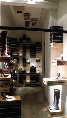 DIEGO DOLCINI, Footwear, Via Morone, Milan, Italy, pinned by Ton van der Veer