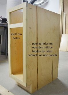 great tutorial on how to build base cabinets. Building Base Cabinets | Ana White DIY Projects