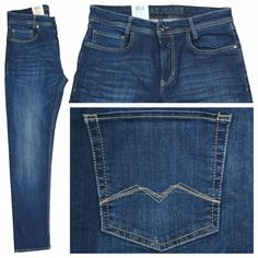 MAC Arne Pipe Jeans darkblue used