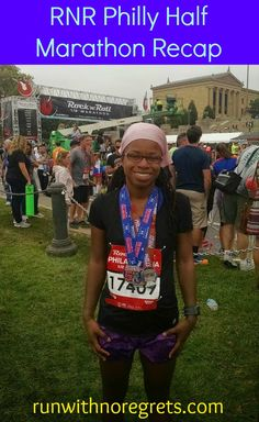 Check out my recap of the second time running the Rock 'N Roll Philadelphia half marathon! You can find even more race recaps at runwithnoregrets.com!