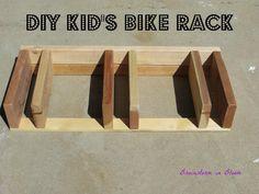 DIY Bike Rack (Single Stem Idea)
