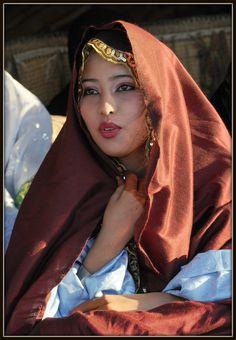 Tuareg bride Ghadames