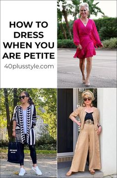 How to dress when you are short   40plusstyle.com