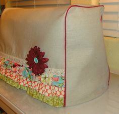 very cute sewing machine cover