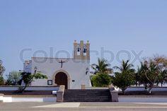 Kirche | Stock-Foto | Colourbox on Colourbox Kirchen, Mansions, House Styles, Pictures, Photomontage, Teneriffe, Greece, Sevilla Spain, Manor Houses