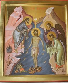 Last year we posted an article about young Romanian iconographers creating traditional icons looking partially to modern art for elements to include in their work. With the spiritual renewal of R… Orthodox Icons, Byzantine Art, Art Studies, Images Of Christ, Paint Icon, Art, Christian Art, Art Icon, Sacred Art