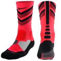 Nike Hyperelite Chase Crew Socks - Men's from Foot Locker. Shop more products from Foot Locker on Wanelo. Nike Elite Socks, Nike Socks, My Socks, Crew Socks, Tall Socks, Nike Basketball Socks, Sports Socks, Volleyball Socks, Shopping