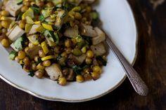 High Protein Recipes...  Lemony Chickpea Stir-fry Recipe