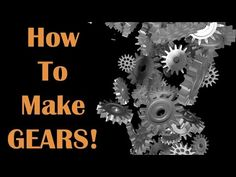 This video shows you how to use the Gears add-on in Blender to create a gear which you can then print on any 3D printer.