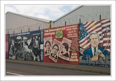 Falls Road, Belfast.  This one gets updated.   Pres Bush was not on the wall when I was there 2 years ago.