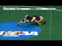 2017 NCAA Wrestling 141lbs: George DiCamillo (Virginia) vs Topher Carton (Iowa)