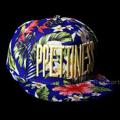 PPETINESS SNAPBACK. Official on-field cap of major league baseball. Premium Headwear. Performance Headwear. Revolutionary Wicking along with Superior Drying Technology. Shrink Resistant. Very comfortable to wear with adjustable strap at the back. Hard and Sturdy Brim. The BLUE FLORAL Coloured Cap and Brim along with WHITE Letters make an extraordinary colour combination. http://roofcart.com/snapback/ppetiness-blue-floral-snapback Keep Following #roofcart