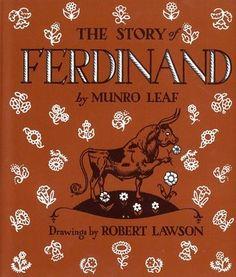 Great book: #Ferdinand by #Munro Leaf