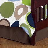 Found it at Wayfair - Designer Dot Toddler Bed Skirt