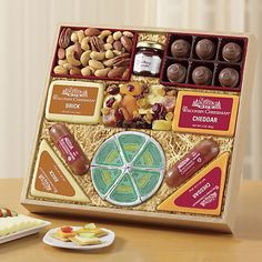 Wisconsin Cheeseman Spring Variety Food Gift Assortment - http://mygourmetgifts.com/wisconsin-cheeseman-spring-variety-food-gift-assortment/