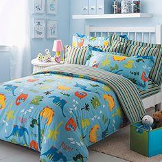 Dinosaur Bedding For Boys ~ Dinosaur Quilts, Comforters, Sheet Sets   #kidsbedding for Girls, Boys, Toddlers & Babies                                                                                                                                                                                 More