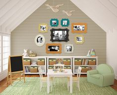 charming child's play room