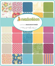 Meadowbloom by April Rosenthal of Prairie Grass Patterns