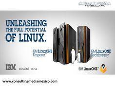 LA MEJOR AGENCIA DIGITAL. IBM anunció el lanzamiento de su nuevo server LinuxOne en sus versiones Emperor y Rockhopper, estos nombres se utilizaron basados en dos tipos de pingüinos. El LinuxOne contará con mayor capacidad de almacenamiento, una renovación de imagen, además de ser compatible con otros sistemas. #redessociales
