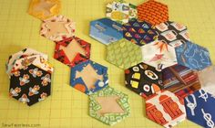 Making a Hexy Kit (The Hexagon I Spy Quilt Project) - Sew Fearless