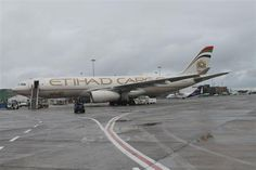 Etihad Cargo dropped in on July 2012 on its first trip to Ireland Ireland, Aircraft, Vehicles, Aviation, Rolling Stock, Airplanes, Irish, Vehicle, Airplane