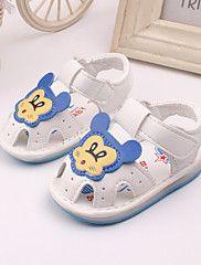Zapatos de bebé-Sneakers a la Moda-Vestido / Casual-Cuero-Amarillo / Rosa / Blanco