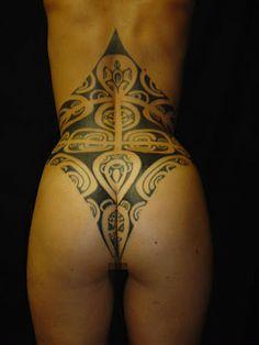 women polynesian tattoo - Google Search