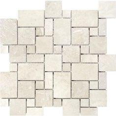 Honed Durango Limestone Kitchen Backsplash Tiles By
