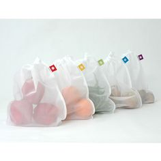 PRODUCE BAGS - flip & tumble - perfect for fruits, veggies, and more!