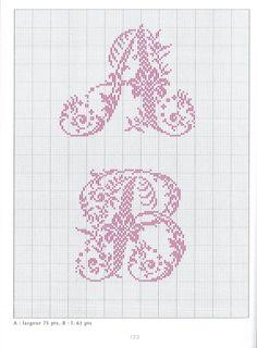 Gallery.ru / Фото #55 - belles lettres au point de croix - moimeme1