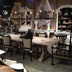 The Chandeliers? Seating? Bookshelf? Table? Let Us Know What Grabs YOUR  Attention! | Houston TX | Gallery Furniture |