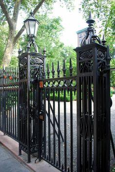 Gramercy Park Historic Cast Iron Fence   Hansel Hernandez   Archinect