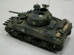 1/48 Scale Military Modelling Discussion Group: Allied Power Vehicle No. 2 - M4A1 WIP Part 2