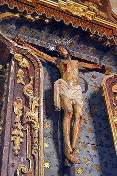 FOTOGRAFIAS DEL MUNDO: El Cristo de la Viga de la Iglesia de San Marcos d...