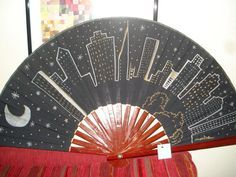 Hand Held Fan, Hand Fans, Umbrella Art, Vintage Fans, Victorian Fashion, Old And New, Diy Crafts, Painting, Language